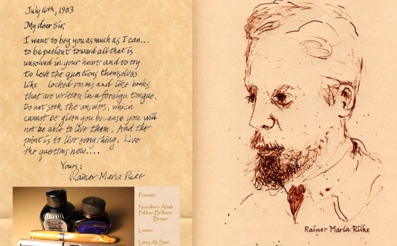 Letter Excerpt: Rainer Maria